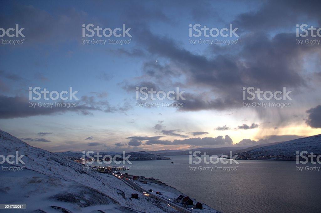 The Faro Islands stock photo
