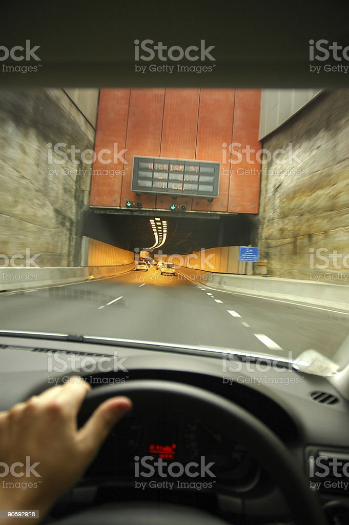 The Fast Lane royalty-free stock photo