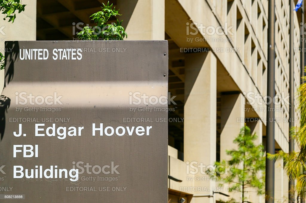 The FBI Headquarters stock photo