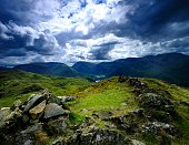 The fells from Place Fell