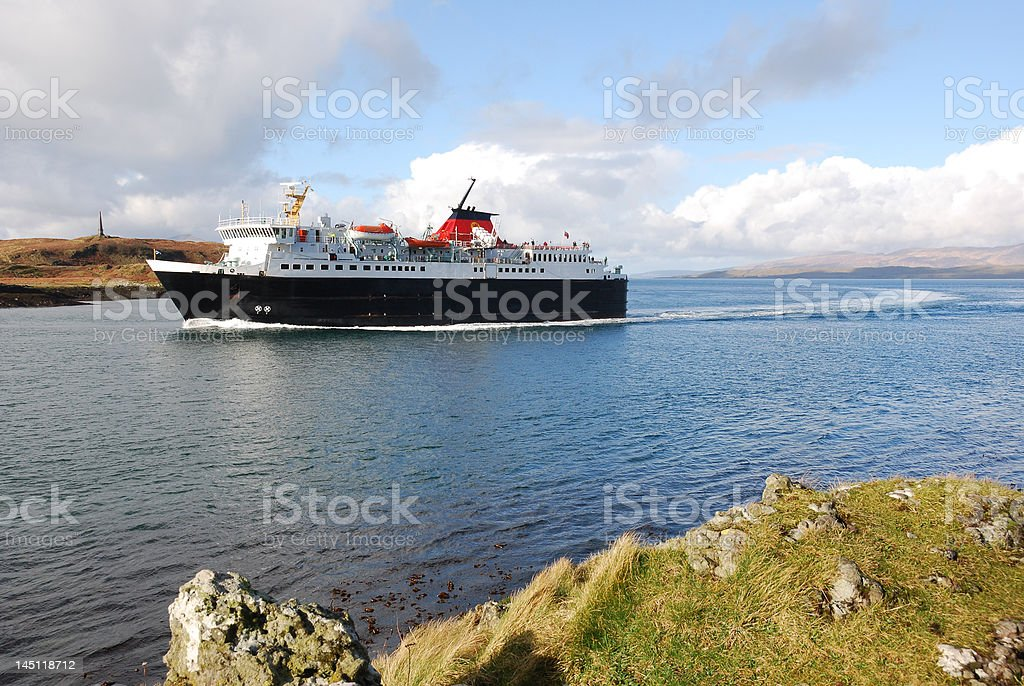 The Ferry royalty-free stock photo