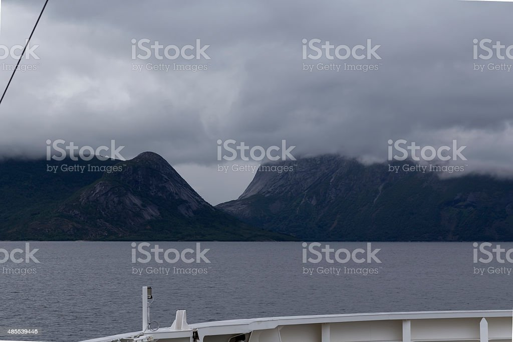 The ferry ride royalty-free stock photo