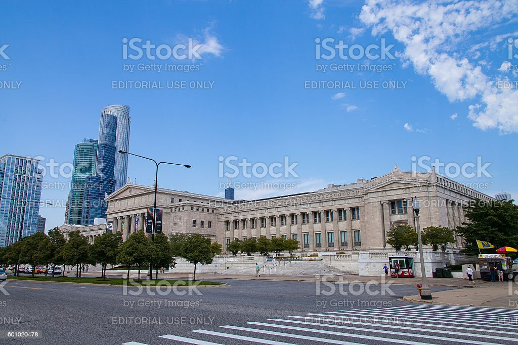 The Field Museum stock photo