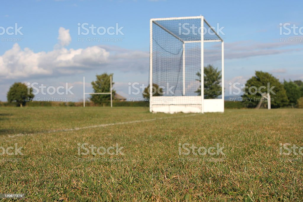 The Field of Play royalty-free stock photo