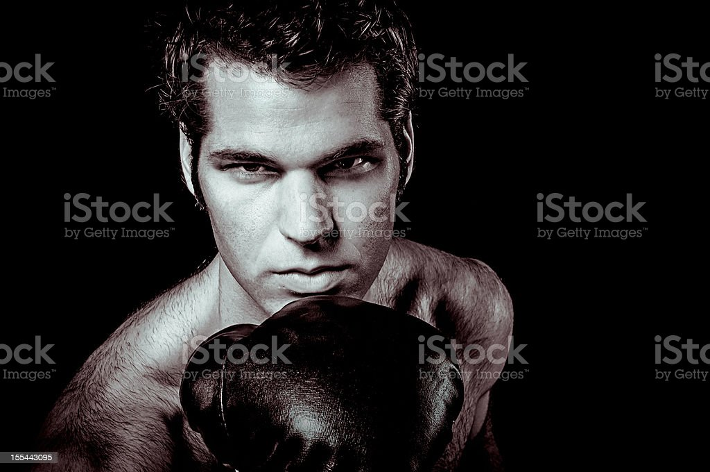 The Fighter stock photo