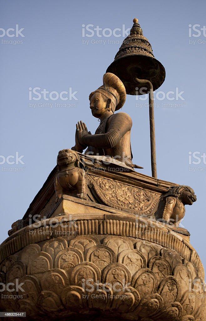 The figure of Buddha stock photo