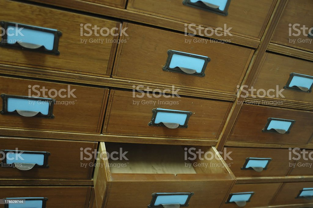 the file is gone royalty-free stock photo