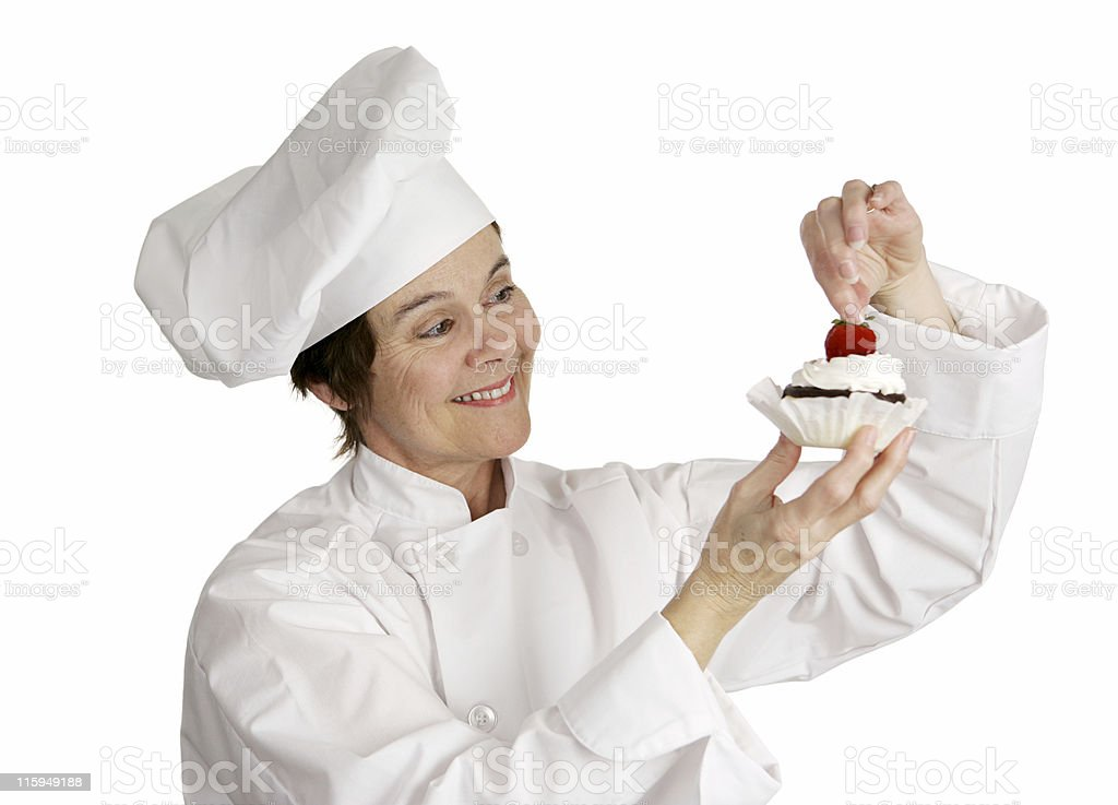 The Finishing Touch royalty-free stock photo