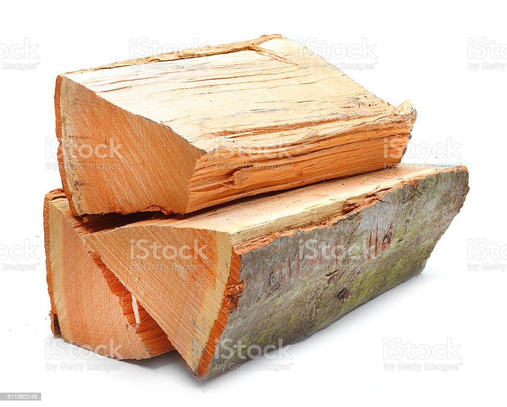 The fire wood. stock photo