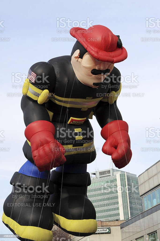 the fireman royalty-free stock photo