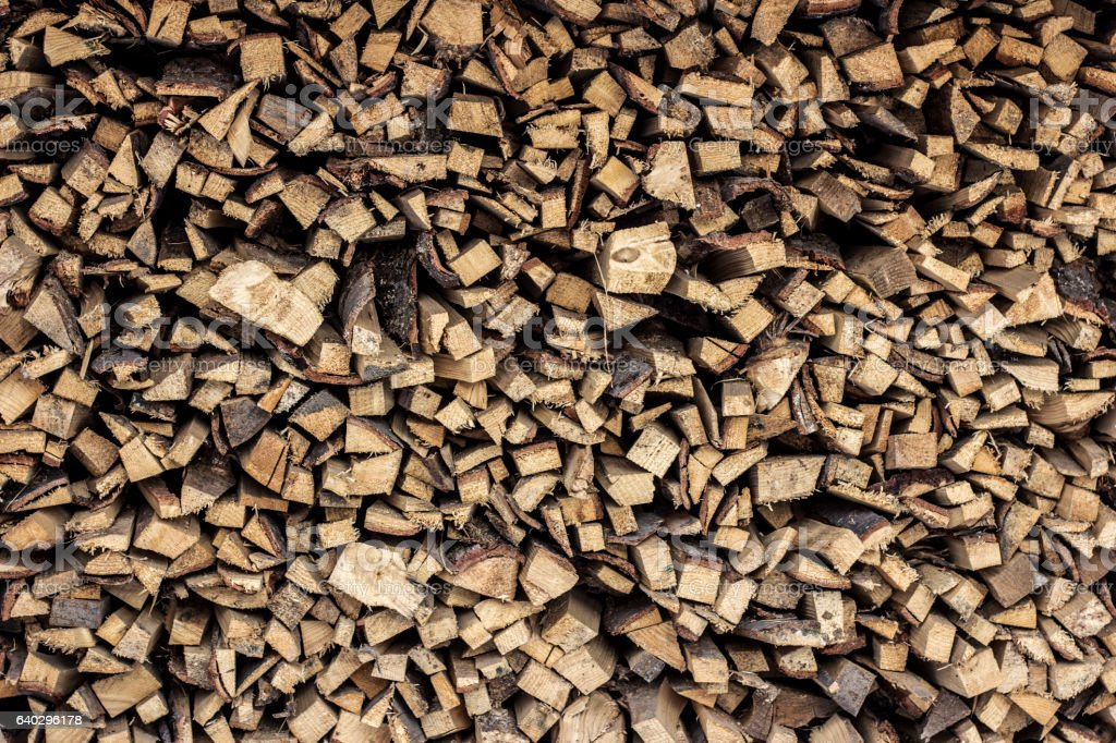 The firewood background stock photo