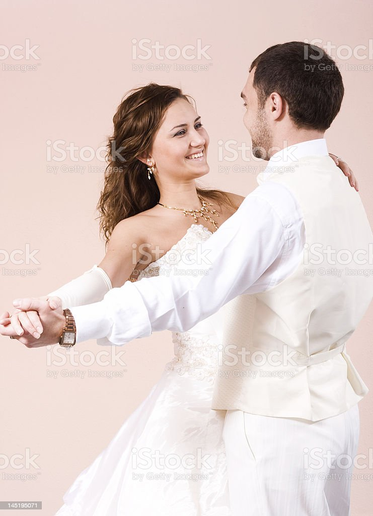 The first dance royalty-free stock photo