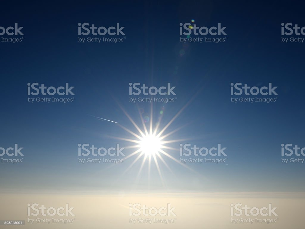 The First day of 2016 stock photo