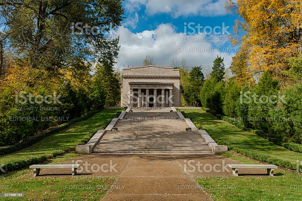The First Lincoln Memorial stock photo