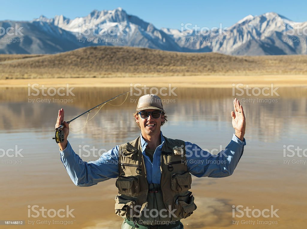 The Fish That Got Away royalty-free stock photo