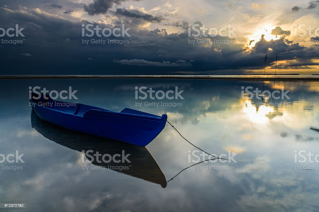 The Fisherman Boat stock photo