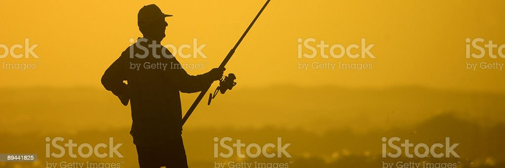 The Fisherman royalty-free stock photo