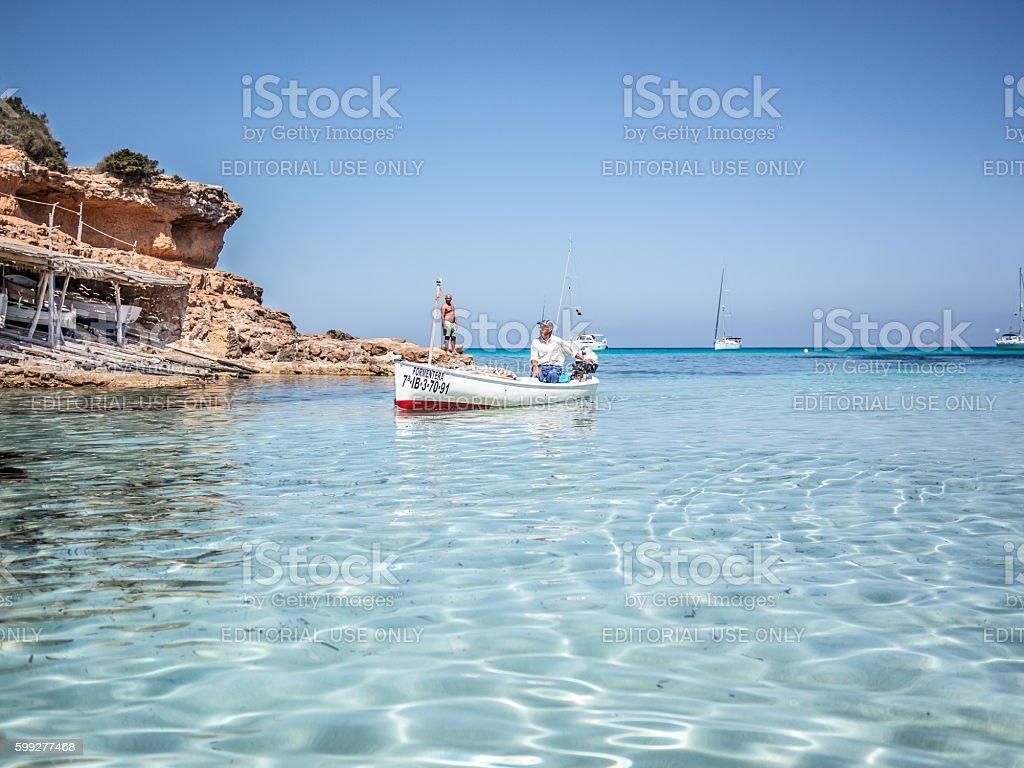 The Fisherman's Boat stock photo