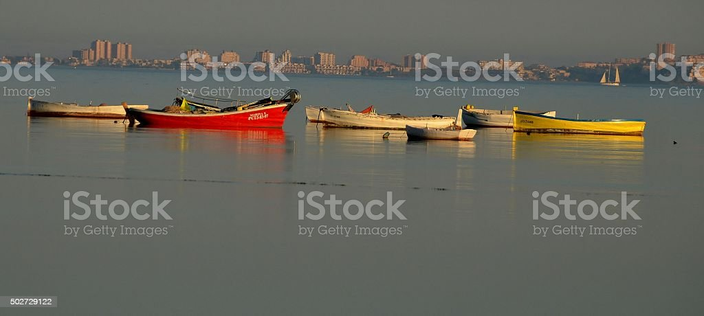 The Fishing Boats stock photo