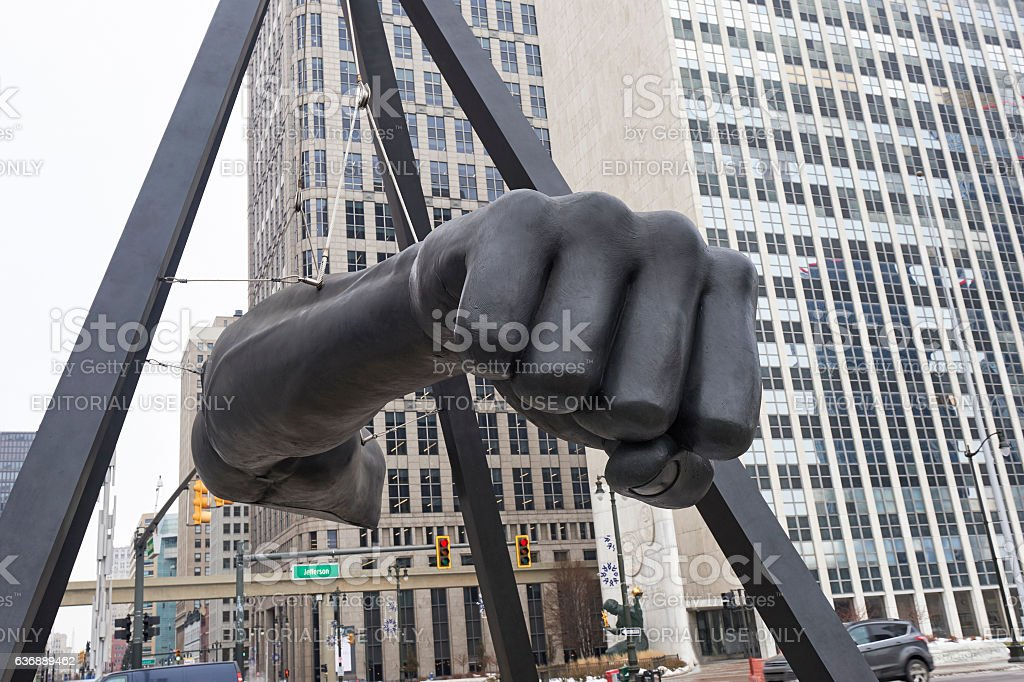 The Fist stock photo