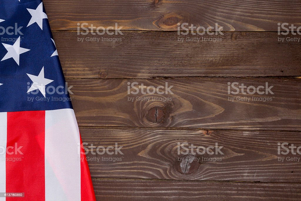 The Flag Of The United States Of America. stock photo