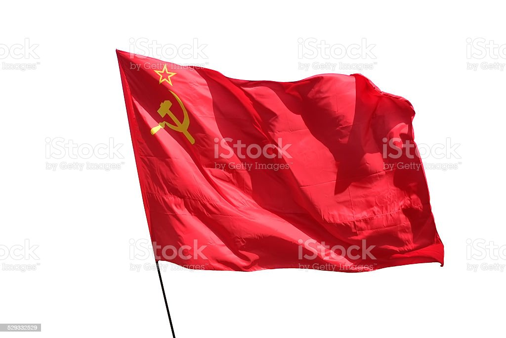 The flag . stock photo