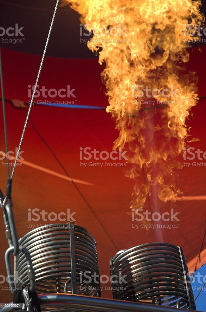 The Flame royalty-free stock photo