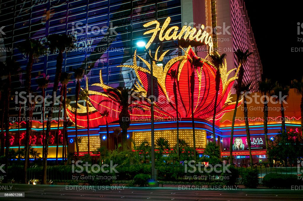 The Flamingo hotel and Casino stock photo