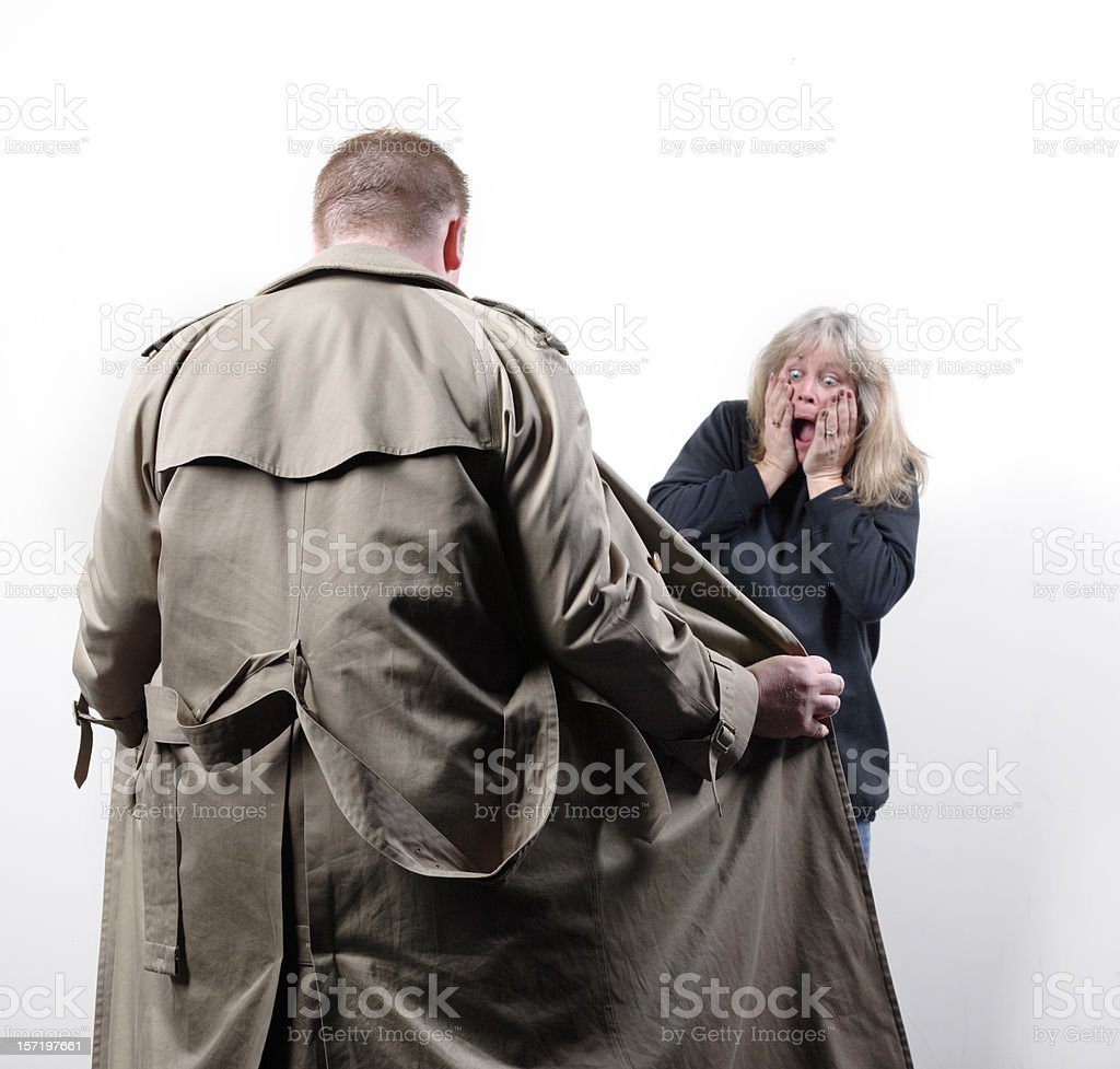 The Flasher stock photo