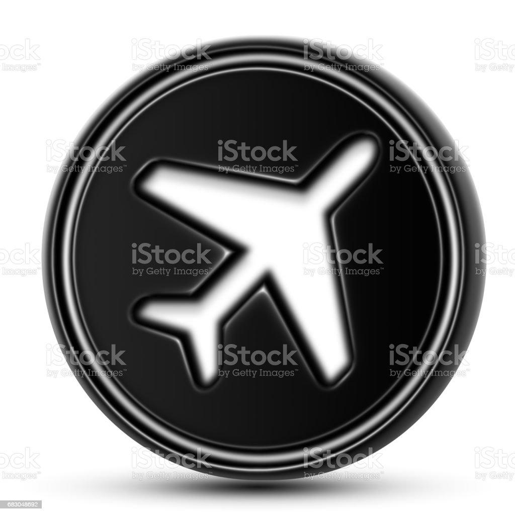 The Flight Icon stock photo