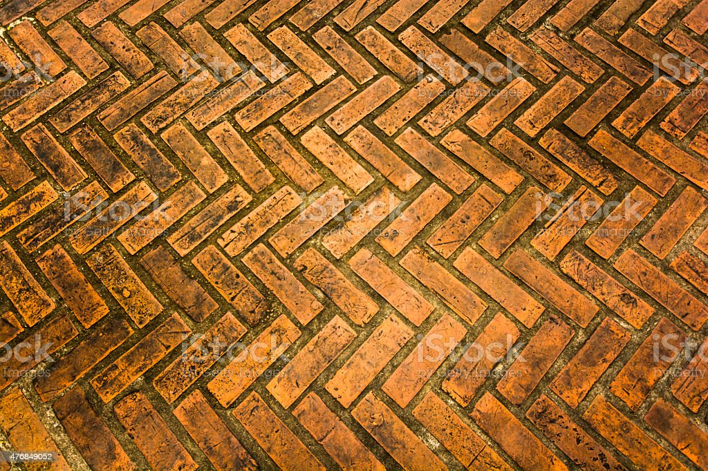 the floor. stone brick pattern texture. walk way royalty-free stock photo