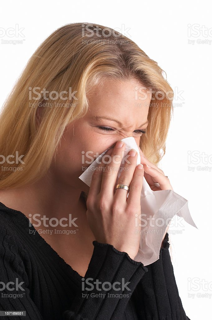 The flu royalty-free stock photo