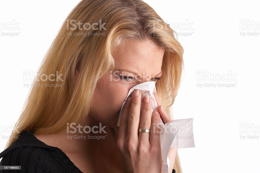 The flu (2) royalty-free stock photo
