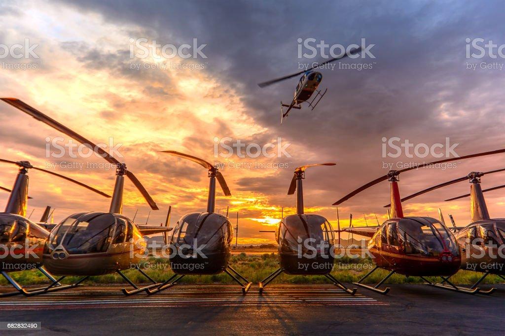 The Flyover stock photo