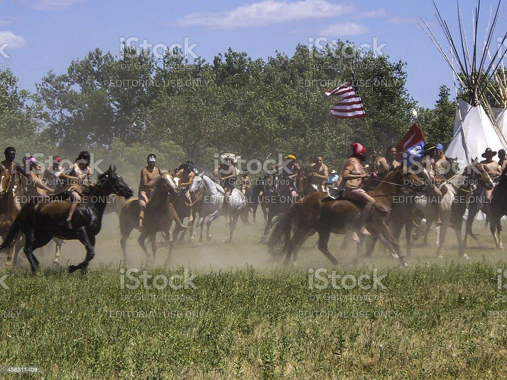 The Fog of War stock photo