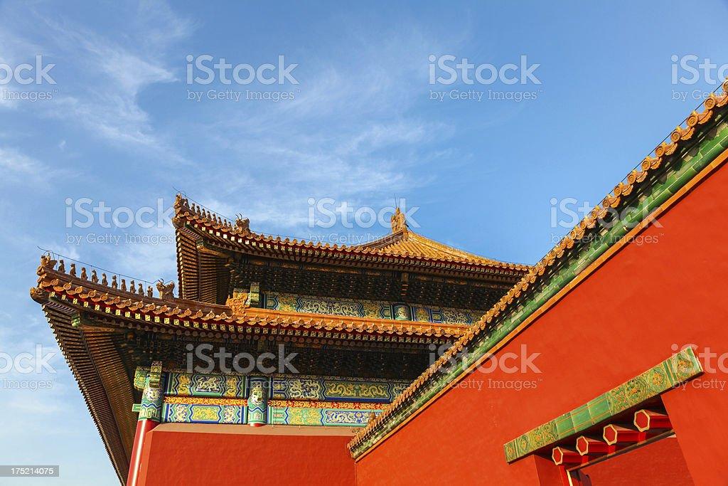 The Forbidden City - Beijing, China royalty-free stock photo