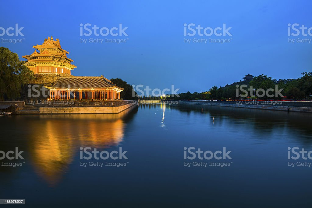 The Forbidden City - Beijing, China stock photo
