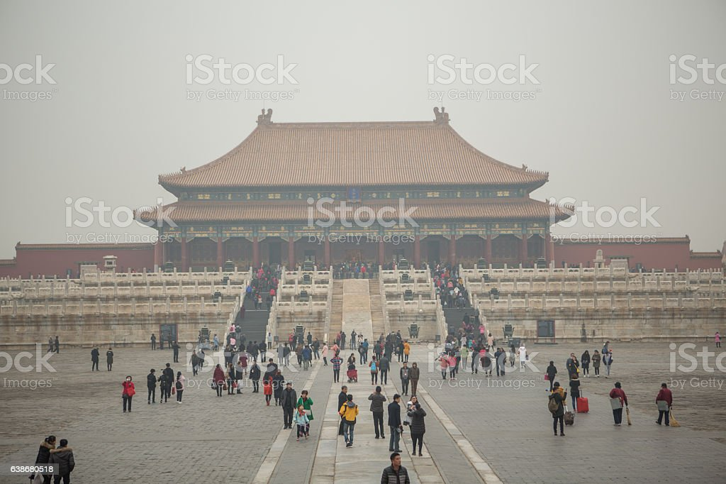 The Forbidden City, Beijing, China stock photo