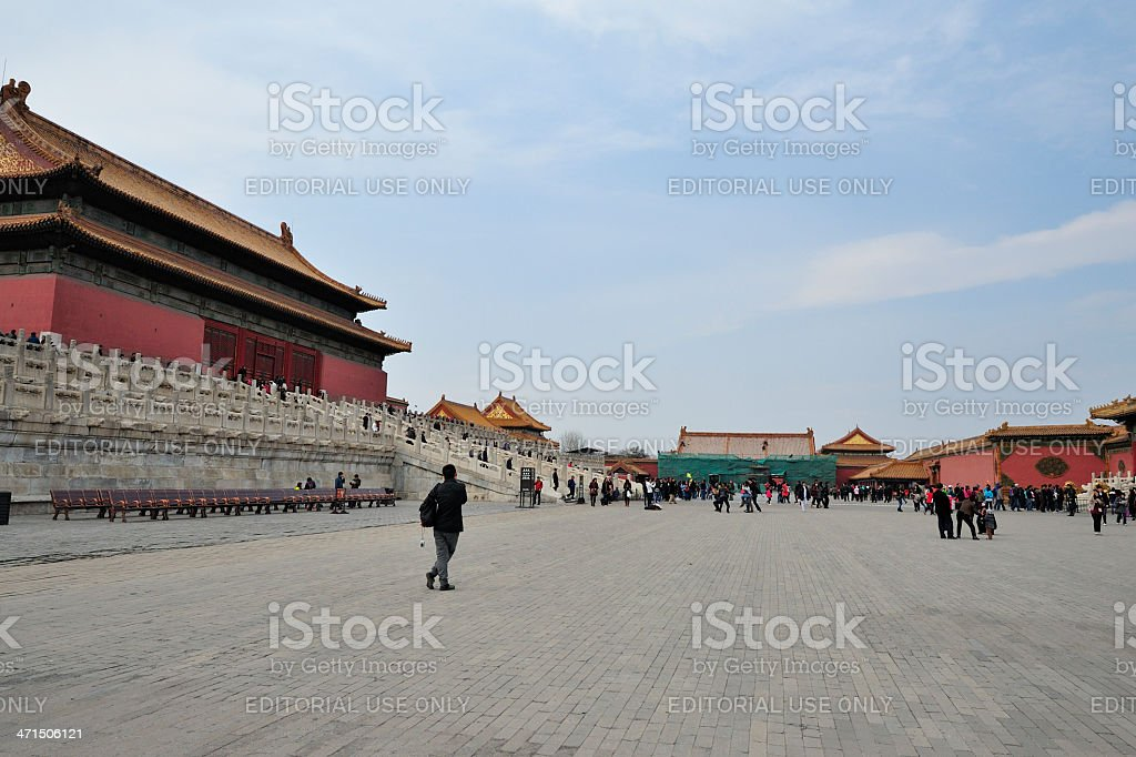 The Forbidden City, Beijing royalty-free stock photo