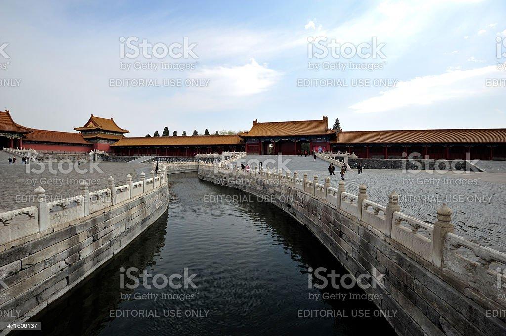 The Forbidden City, China royalty-free stock photo