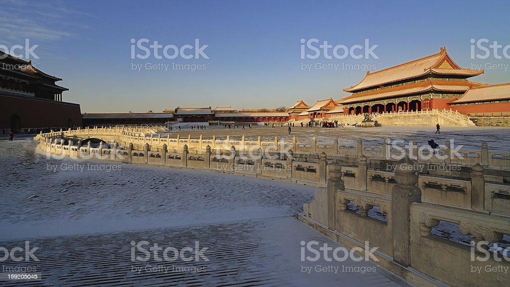 The Forbidden City,Beijing,China royalty-free stock photo