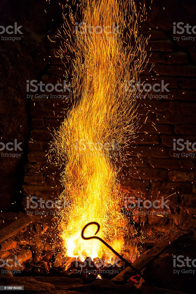 The forge stock photo