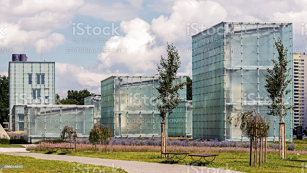 The former coal mine 'Katowice' stock photo