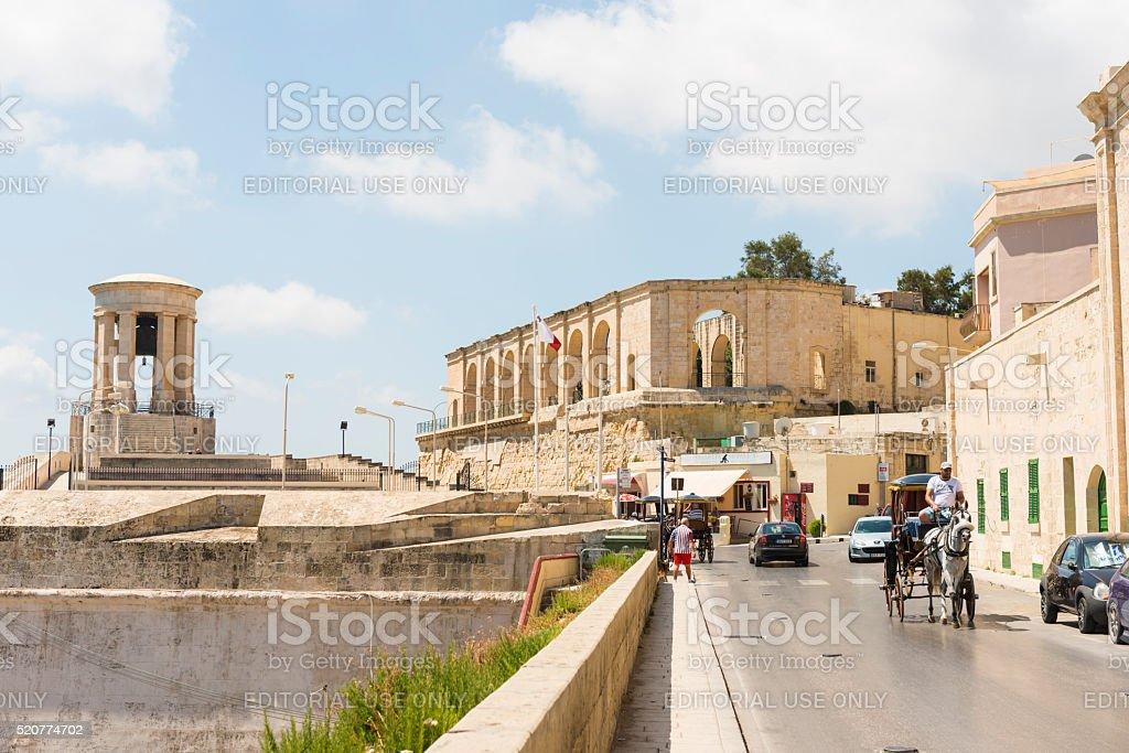 The Fortress City Valetta stock photo