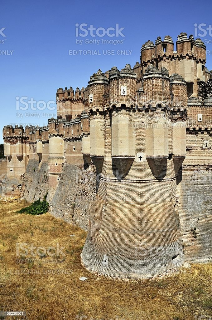 The Fortress of Coca (Vertical) stock photo