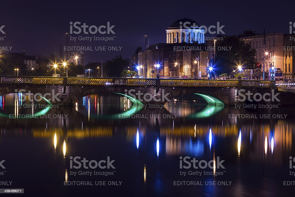 The Four Courts stock photo