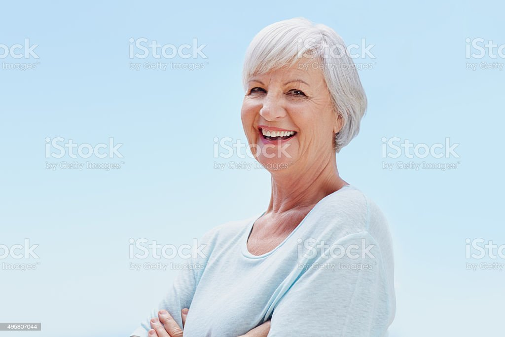 The freedom of retirement stock photo