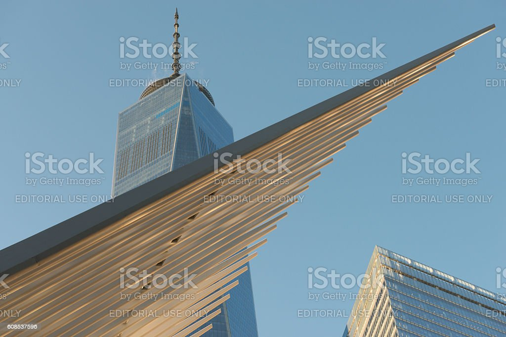 The Freedom Tower stock photo