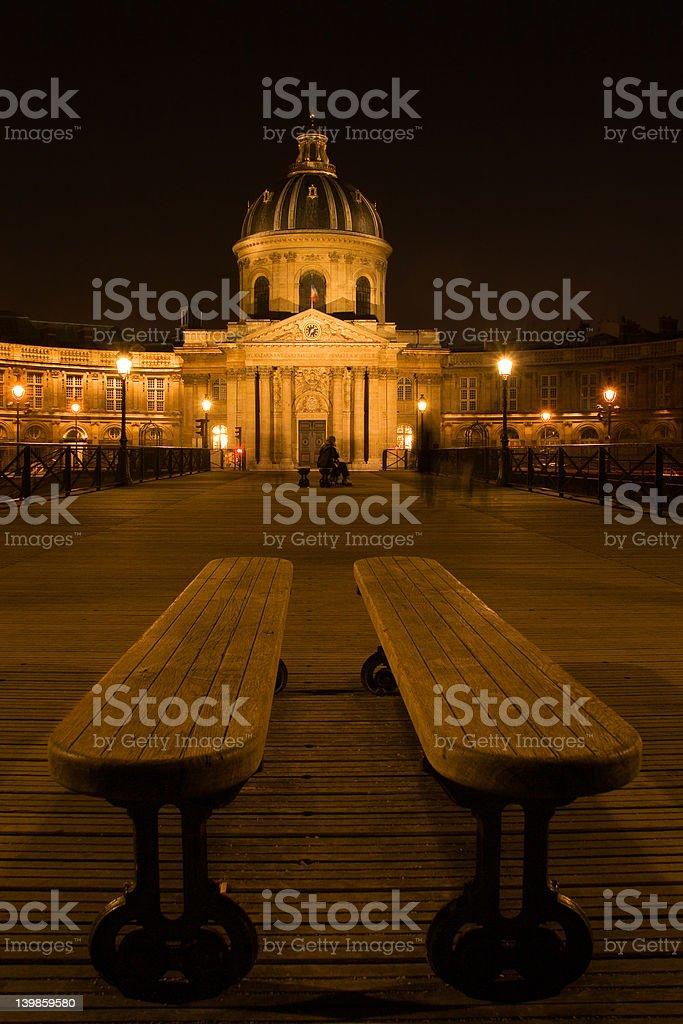 El instituto de francia foto de stock libre de derechos