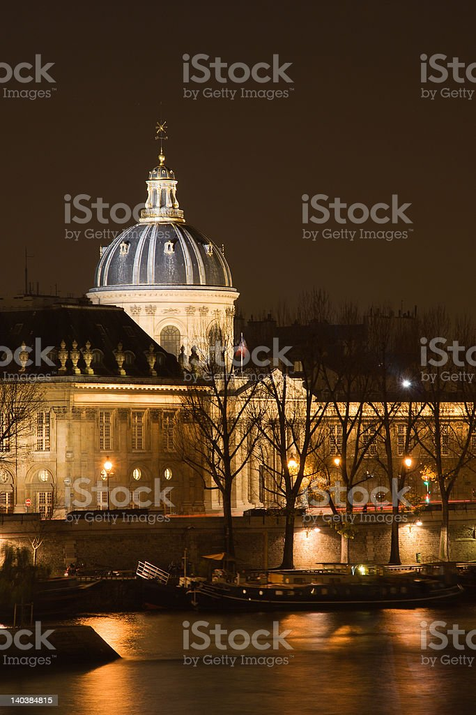 The French Institute royalty-free stock photo